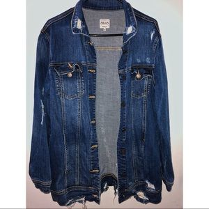 CELLO | Distressed Denim Jacket